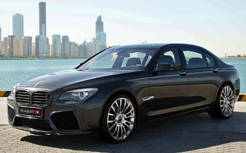 760Li Sedan by BMW in The November Man