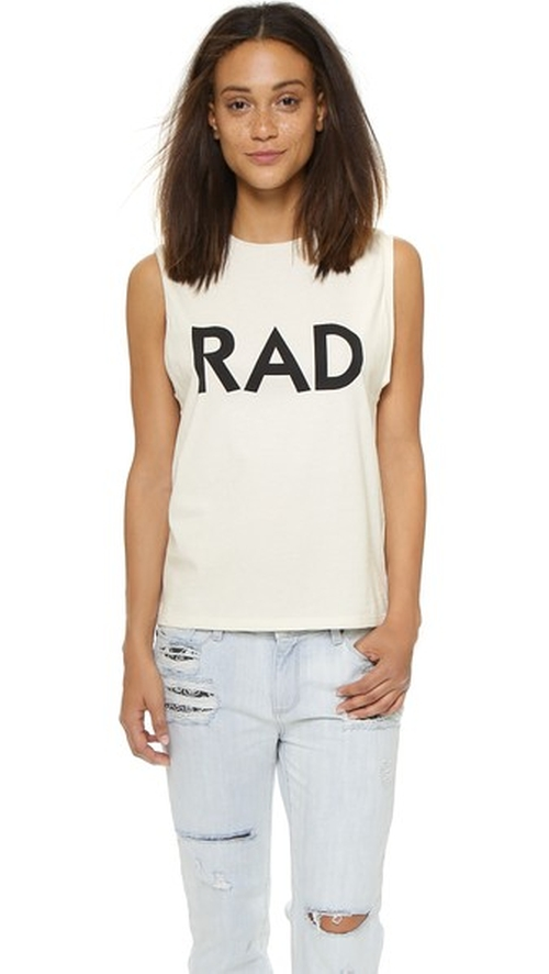 Rad Tank Top by 6397 in Keeping Up With The Kardashians - Season 11 Episode 2