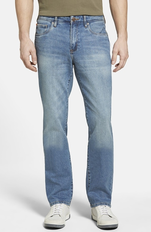 'Nash' Straight Leg Jeans by Tommy Bahama Denim in Furious 7