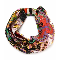 Floral Print Turban by Etro in Empire