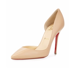 Iriza Half-d'Orsay Red Sole Pumps by Christian Louboutin in The Neon Demon