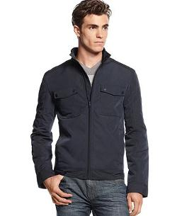 Lightweight 4-Pocket Bib Jacket by ALFANI in This Is Where I Leave You