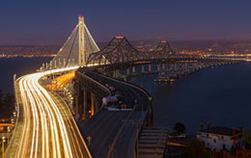 San Francisco-Oakland Bay Bridge San Francisco, California in Need for Speed