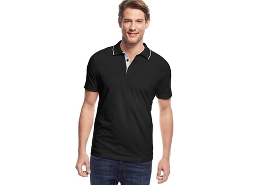 Short Sleeve Edgar Polo Shirt by Alfani in Modern Family - Season 7 Episode 5
