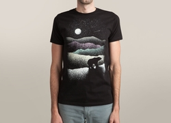 Wandering Bear Tee Shirt by Threadless in The Flash
