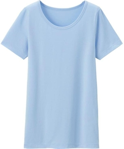 Kids Heattech U-Neck Short Sleeve T-Shirt by Uniqlo in Wish I Was Here