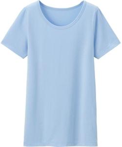 Kids Heattech U-Neck Short Sleeve T-Shirt by Uniqlo in Wish I Was Here