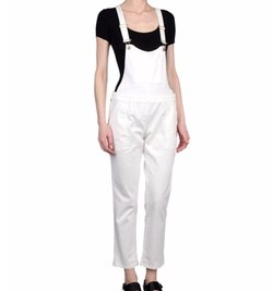 Multipockets Overalls by Patrizia Pepe in Girlboss