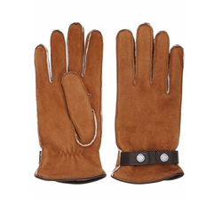 Shearling Gloves by Mario Portolano in Kingsman: The Golden Circle