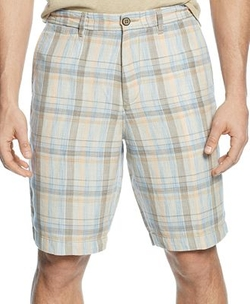 Paddleboard Plaid Shorts by Tommy Bahama in Sisters
