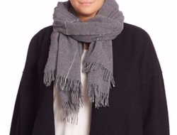 Wool Blend Scarf by Eileen Fisher in Ghost in the Shell
