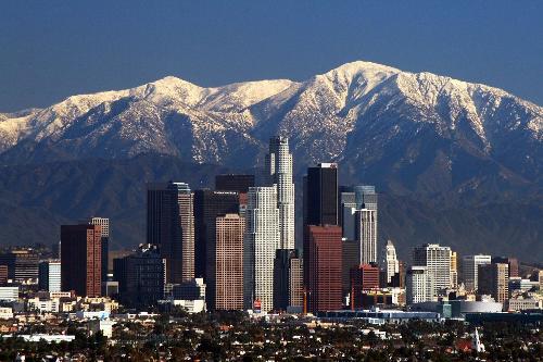 Los Angeles California in Nightcrawler