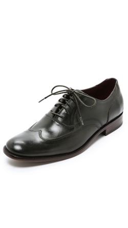 Luxe Classic Wing Tips by John Varvatos Star USA in Ride Along