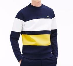 Color Block Fleece Sweatshirt by Lacoste in Wet Hot American Summer: Ten Years Later
