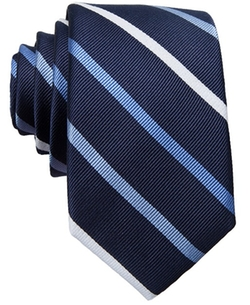 Carnaby Collection Cunningham Stripe Skinny Tie by Bar III in The Hundred-Foot Journey