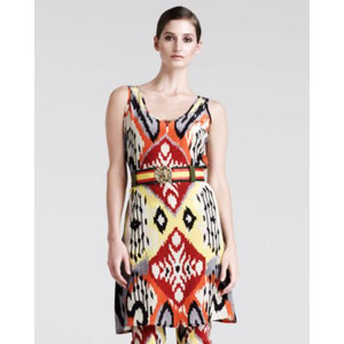Bushbuck Ikat-Print Tunic-Top-Dress by Altuzarra in The Other Woman