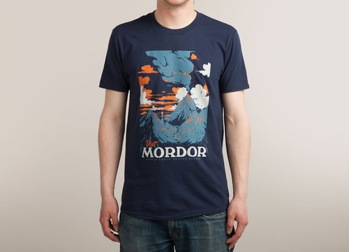 Visit Mordor T-Shirt by Threadless in The Flash - Season 2 Episode 15