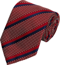 Diagonal-Striped Necktie by Ermenegildo Zegna in The Good Wife