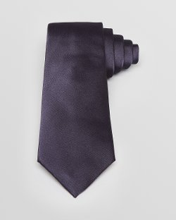 Solid Classic Tie by Armani Collezioni in The Counselor