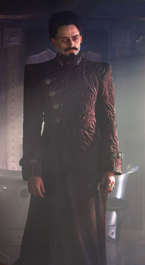Custom Made 'Coat' (Blackbeard) by Jacqueline Durran (Costume Designer) in Pan
