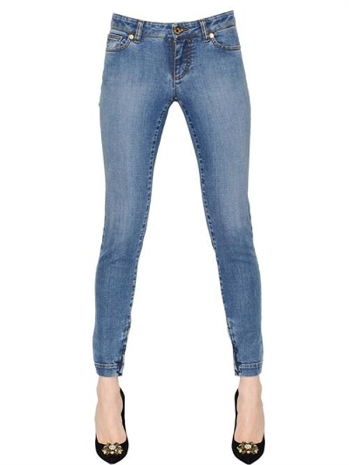 Pretty Stretch Cotton Denim Jeans by Dolce & Gabbana in The Other Woman