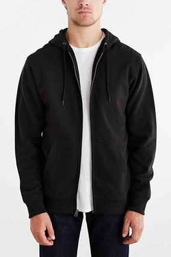 Fleece Zip Hoodie by BDG in Chi-Raq