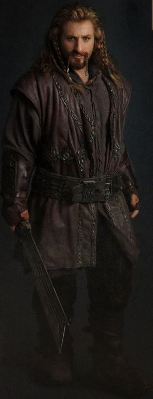Custom Made Fili Costume by Ann Maskrey & Bob Buck (Costume Designer) in The Hobbit: The Battle of The Five Armies
