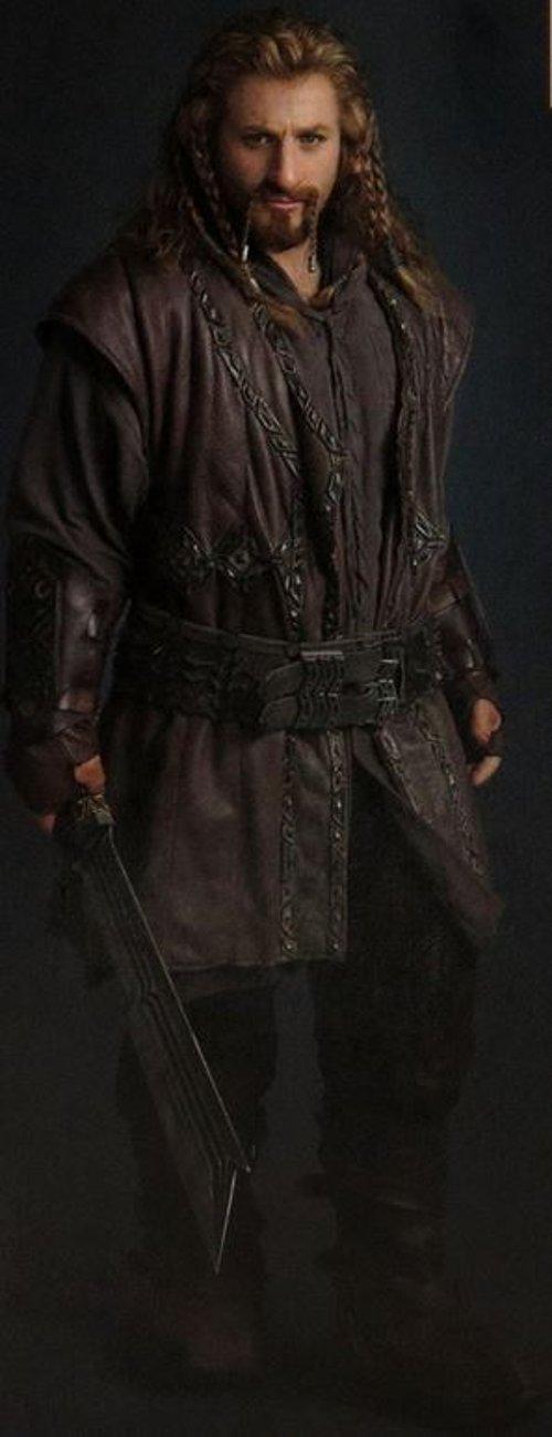 Custom Made Fili Costume by Ann Maskrey & Bob Buck (Costume Designer) in The Hobbit: The Battle of The Five Armies
