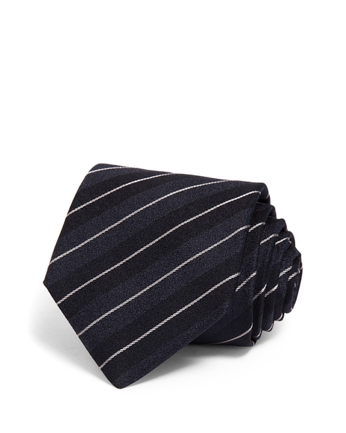 Twisted Cable Stripe Classic Tie by John Varvatos Star USA in The Blacklist - Season 3 Episode 7