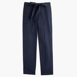 Tie Front Pant In Lightweight Bi-Stretch Wool by J.Crew in Pretty Little Liars