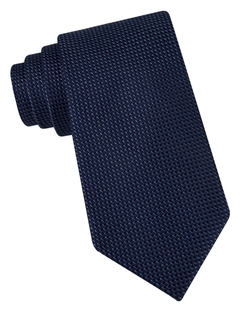 Textured Silk Tie by Michael Michael Kors in Scream Queens