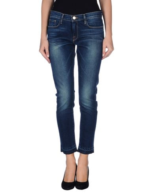 Straight Leg Denim Pants by Frame Denim in While We're Young