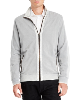 Colorblock Zip-Up Jacket by Kenneth Cole New York in The Big Bang Theory