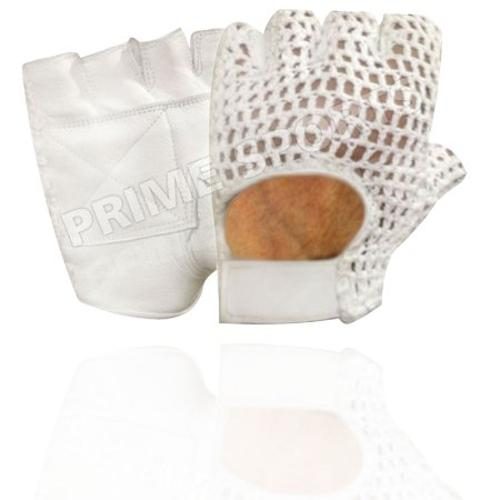 Prime Leather Top Quality Fingerless Net Gloves by Prime Sports in Pain & Gain
