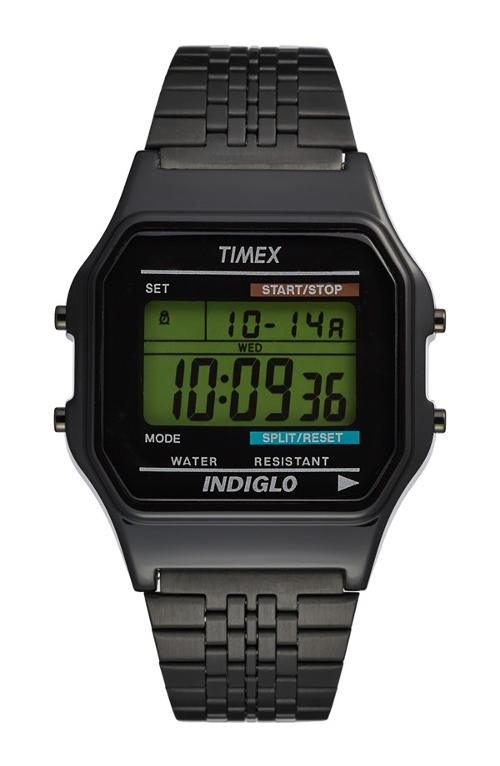 '80 Classic' Digital Bracelet Watch by Timex in Barely Lethal