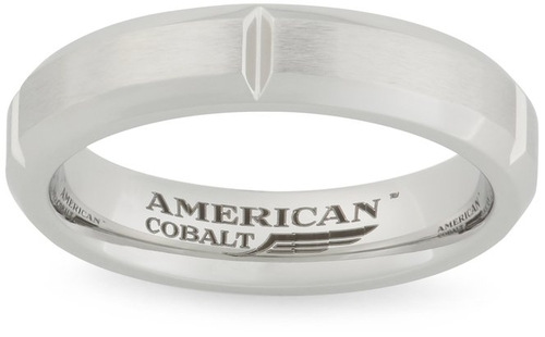 Satin Center Band Ring by American Cobalt in Scout's Guide to the Zombie Apocalypse