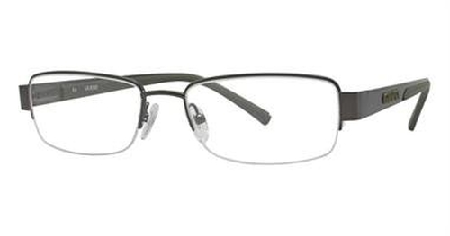 Dark Gun Eyeglasses by Guess in Midnight Special