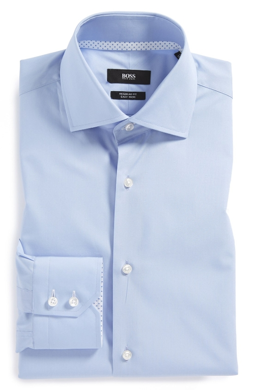 Gregory Easy Iron Dress Shirt by Boss Hugo Boss in Unfinished Business