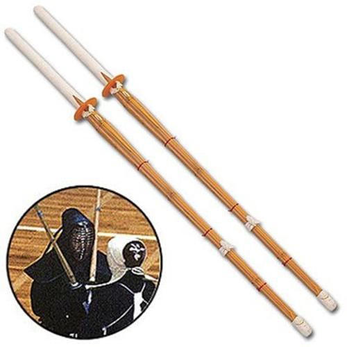 Kendo Shinai Bamboo Practice Katana Set by 24Seven in The Wolverine