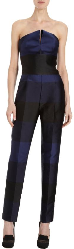 Striped Strapless Jumpsuit by Stella Mccartney in The Other Woman