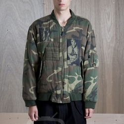 Manics Camouflage Jacket by Raf Simons in Keeping Up With The Kardashians