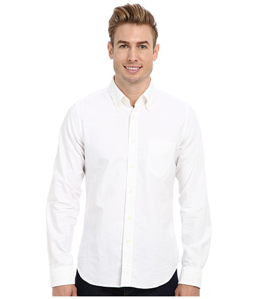 Oxford Hugger Original Button Down Shirt by Gant Rugger R. in Unfriended