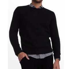 Cashmere Crewneck Sweater by White + Warren in Quantico