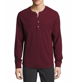 Thermal Henley T-Shirt by 7 For All Mankind in Shadowhunters