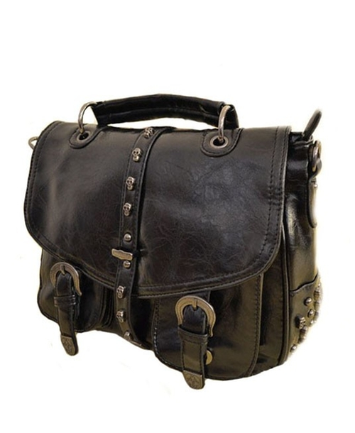 Studded Messenger Bag by Chicnova in Scout's Guide to the Zombie Apocalypse