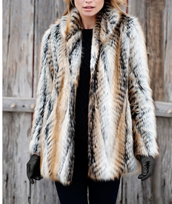 Shawl Collar Jacket by Donna Salyers' Fabulous-Furs in Star