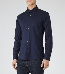 Button-Down Oxford Shirt by Ascot in Ant-Man