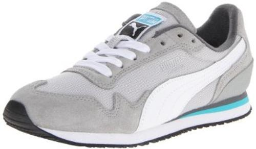 Cabana Mesh Sport Lace-Up Fashion Sneaker by Puma in Neighbors