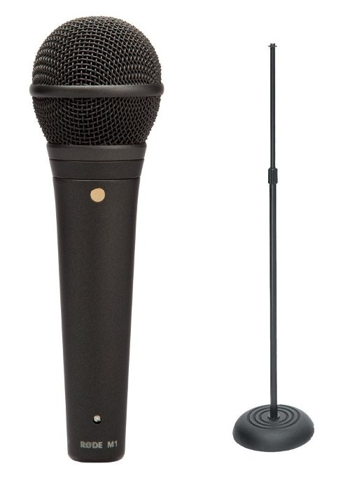 Dynamic Microphone With Stand by Rode in (500) Days of Summer