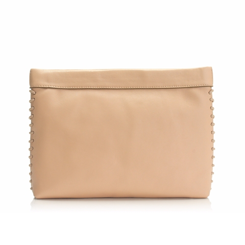 Leather Clutch by J.Crew in The Boss